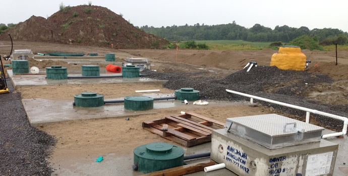 Kollaard associates services structural engineering for Gravity septic
